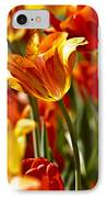 Tulips-flowers-tulips Burning IPhone Case by Matthew Miller