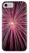 4th Of July Fireworks 24 IPhone Case by Howard Tenke