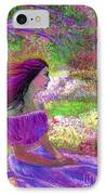 Butterfly Breezes IPhone Case by Jane Small