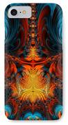 Butterfly Plasma  IPhone Case by Ian Mitchell