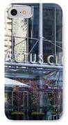 Cactus Club Cafe II IPhone Case by Chris Dutton