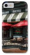 Cafe - Albany Ny - Mc Geary's Pub IPhone Case by Mike Savad