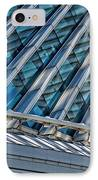 Calatrava In The Morning IPhone Case by Mary Machare