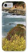 California Coast Overlook IPhone Case by Carol Groenen