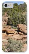 Canyon De Chelly - A Blend Of Cultures IPhone Case by Christine Till