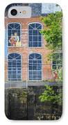 Capitola Cotton Yarn Mill IPhone Case by Carolyn Marshall