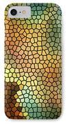 Carina Nebula Mosaic  IPhone Case by Jennifer Rondinelli Reilly - Fine Art Photography