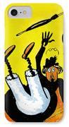 Cartoon 07 IPhone Case by Svetlana Sewell