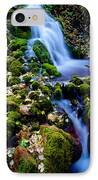 Cascade Creek IPhone Case by Chad Dutson