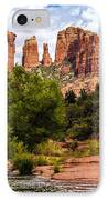 Cathedral Rock IPhone Case by Fred Larson
