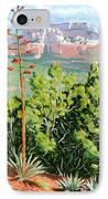 Century Plant - Sedona IPhone Case by Steve Simon