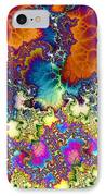 Chaos Of Unrealized Ideas IPhone Case by Elizabeth McTaggart