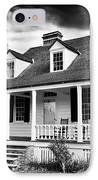 Charles Pickney House IPhone Case by John Rizzuto