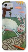 Chasing Tail IPhone Case by James W Johnson