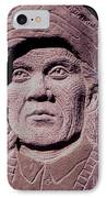 Chief-cochise-2 IPhone Case by Gordon Punt