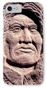 Chief-gall IPhone Case by Gordon Punt