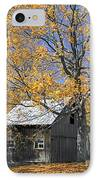 Childhood Memories Tire Swing  IPhone Case by Timothy Flanigan