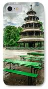Chinesischer Turm I IPhone Case by Hannes Cmarits