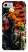Christmas Greeting Card II IPhone Case by Alessandro Della Pietra