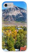 City Of Crested Butte Colorado Panorama   IPhone Case by James BO  Insogna