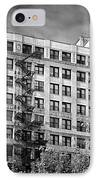 Classic Iron Fire Escape Chicago Il IPhone Case by Christine Till