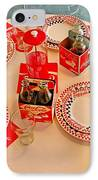 Coca-cola Diner  IPhone Case by Chris Berry