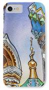 Colors Of Russia St Petersburg Cathedral II IPhone Case by Irina Sztukowski