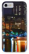 Colors On The Charles IPhone Case by Joann Vitali