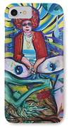 Contemplation Of Life IPhone Case by Lorinda Fore and Tony Lima