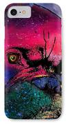 Contemplative Boxer Dog IPhone Case by Marlene Watson