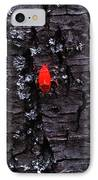 Contrasts IPhone Case by Lucy D