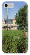 Conway Scenic Railroad - North Conway New Hampshire Usa IPhone Case by Erin Paul Donovan