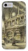 Coronation Evening London 1937 IPhone Case by Jack Coburn Witherop