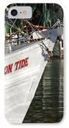 Crimson Tide Bow IPhone Case by Michael Thomas