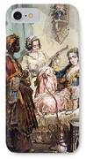 Cup Of Coffee, 1858 IPhone Case by Amadeo Preziosi