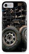 Dark Old Garage IPhone Case by Amy Cicconi
