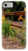 Day Lilies IPhone Case by Michael Pickett
