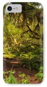 Deep Into The Hoh Rain Forest IPhone Case by Rich Leighton