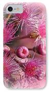 Delicate Buds And Blossoms IPhone Case by Kaye Menner