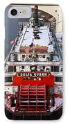 Delta Queen In Christmas Snow IPhone Case by Tom and Pat Cory