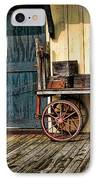 Depot Wagon IPhone Case by Kenny Francis