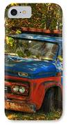 Done Hauling  IPhone Case by Alana Ranney