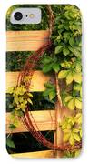 Don't Fence Me In IPhone Case by Cricket Hackmann