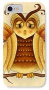 Dottie IPhone Case by Brenda Bryant