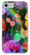 Double Dahlia Flower Party IPhone Case by Alixandra Mullins
