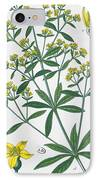 Dyers Madder IPhone Case by French School