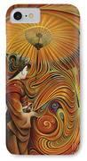 Dynamic Oriental IPhone Case by Ricardo Chavez-Mendez