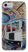 Dynamic Route 66 II IPhone Case by Ricardo Chavez-Mendez