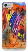 Edinburgh's Royal Mile  IPhone Case by Karen Larter