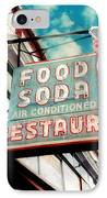 Elliston Place Soda Shop IPhone Case by Amy Tyler